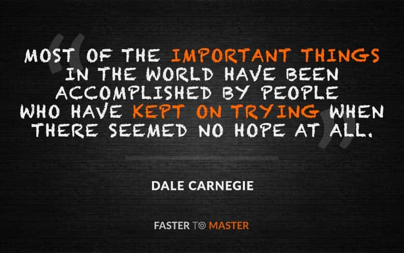 Growth Mindset Quotes - Dale Carnegie