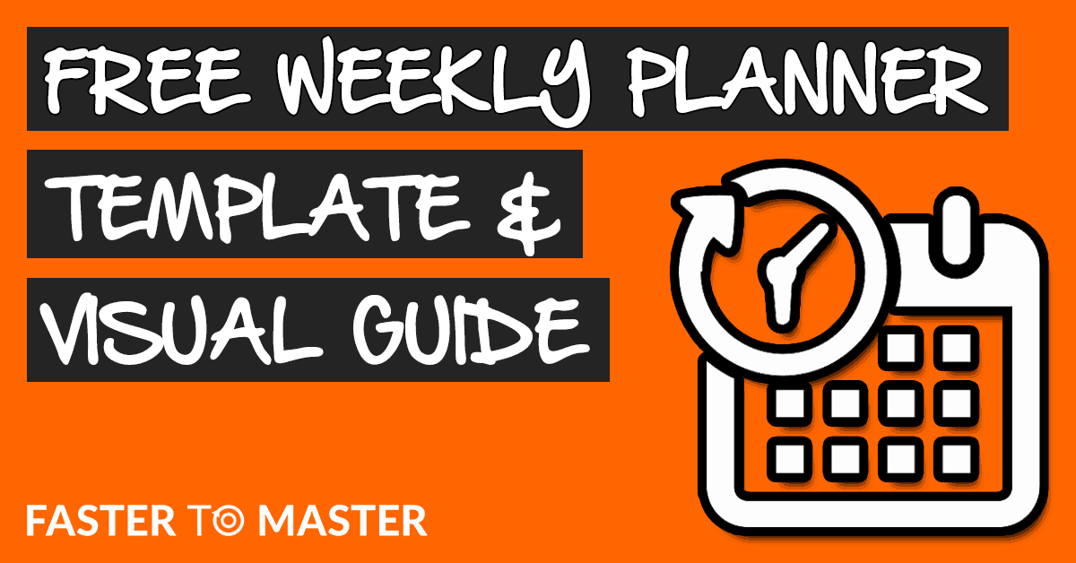Free Weekly Planner Template And Guide