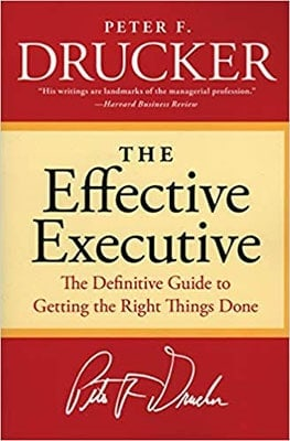 Best Productivity Books: The Effective Executive