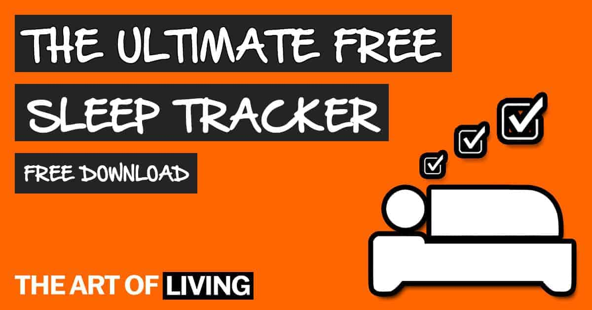Free Sleep Tracker Template