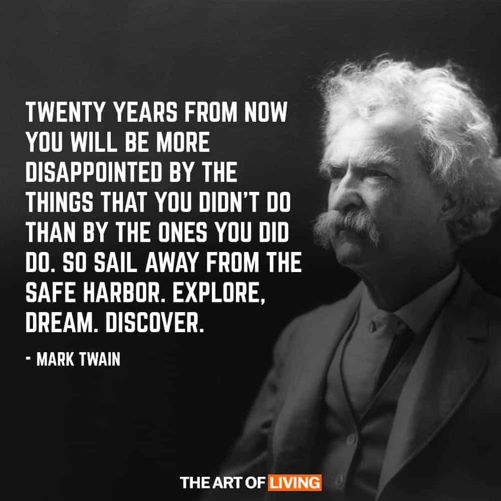 Time Quotes Mark Twain