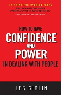 Must Read Books: How to Have Confidence and Power in Dealing with People