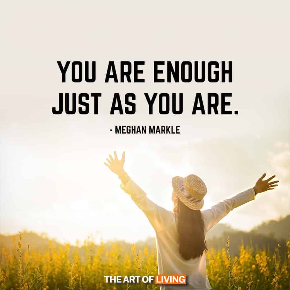 You Are Enough Quotes Meghan Markle